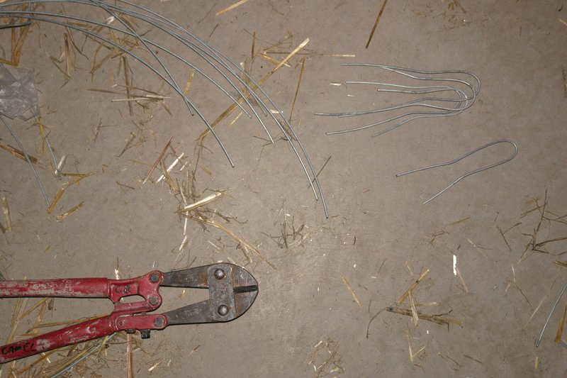 bale pins (note double bend)