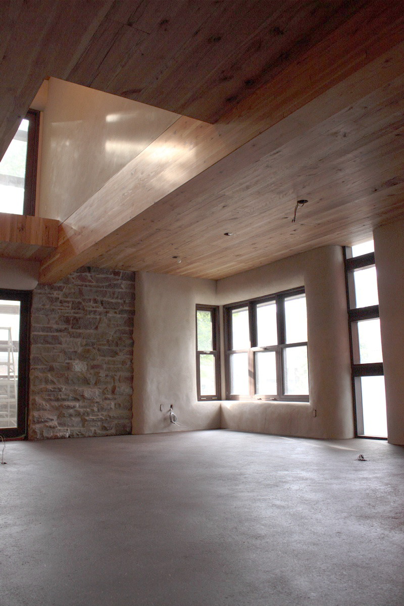 American Clay On Walls Earth Floor The Sustainable Home